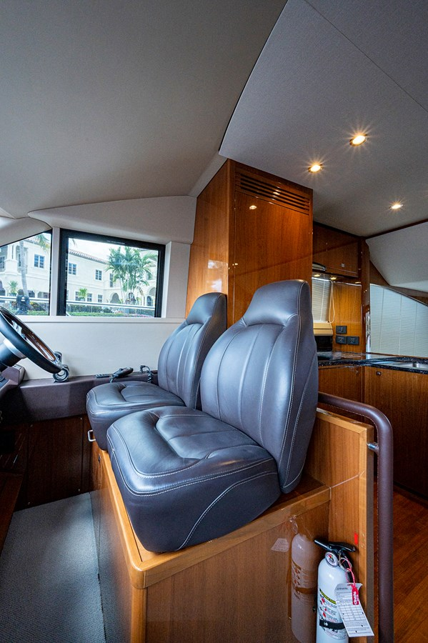 Bow To Stern_Helm3 2015 PRINCESS YACHTS 56 Motor Yacht 2932830
