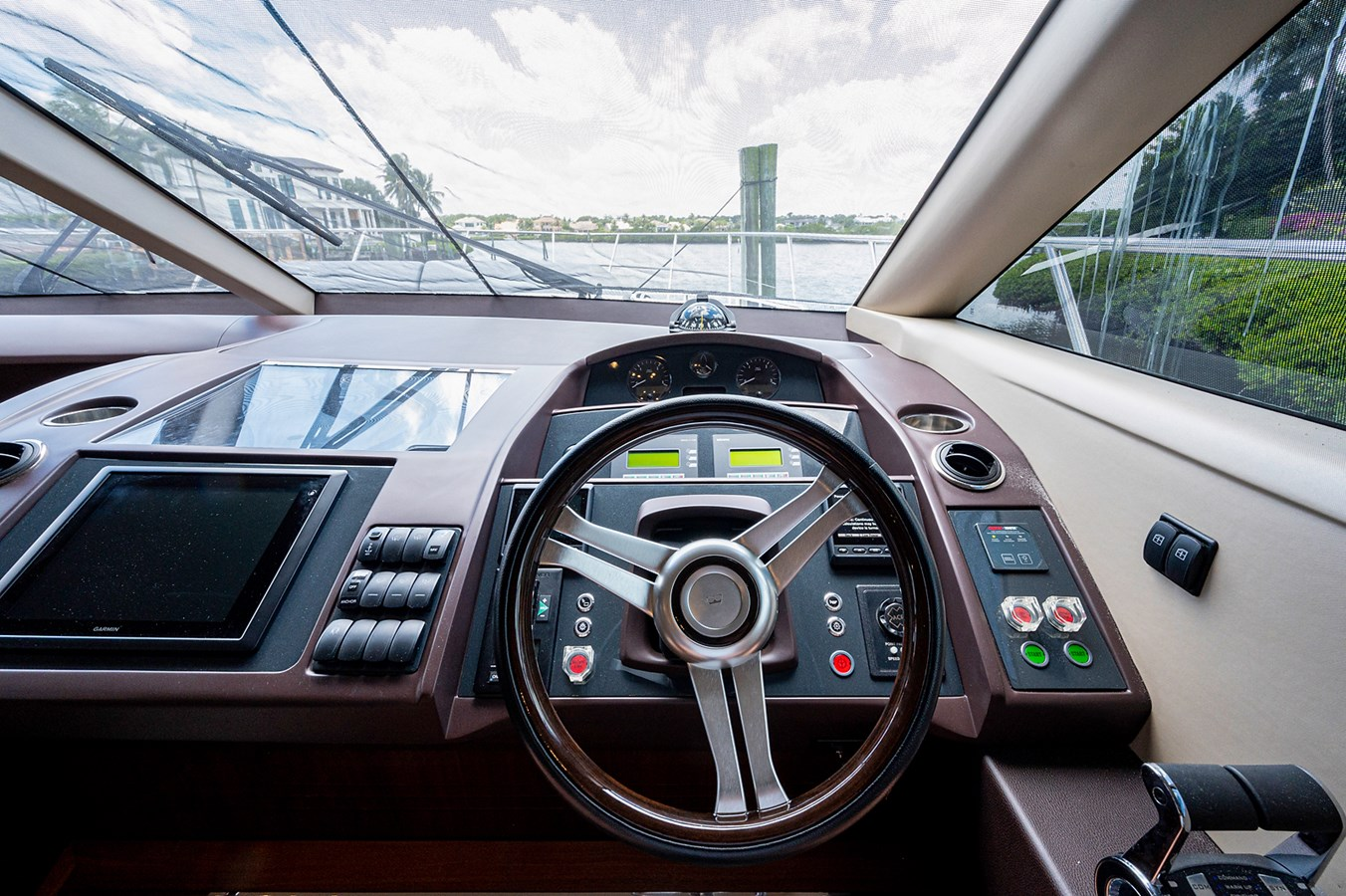 Bow To Stern_Helm4 2015 PRINCESS YACHTS 56 Motor Yacht 2932831