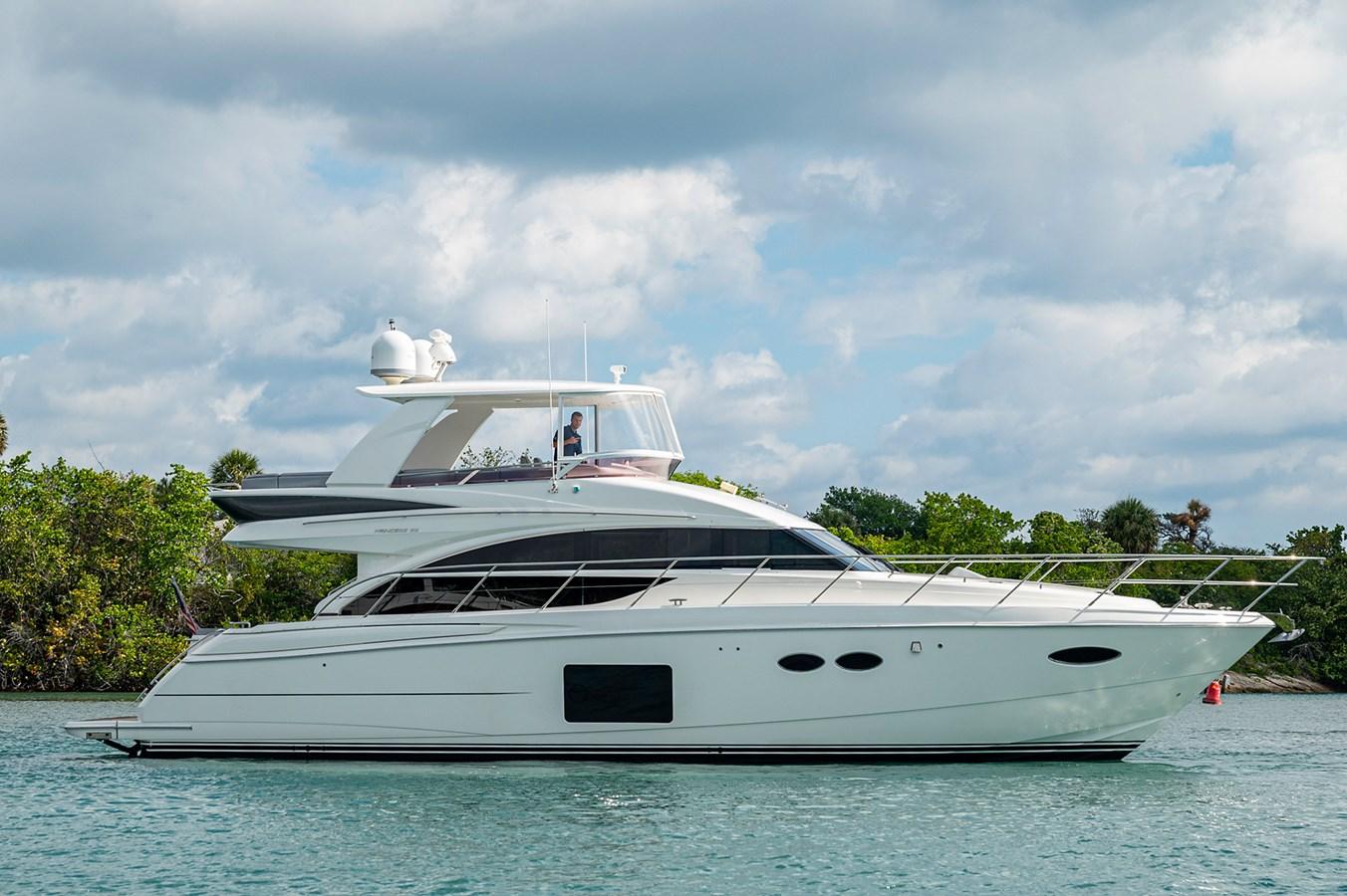 Bow To Stern_Profiles7 2015 PRINCESS YACHTS 56 Motor Yacht 2932839