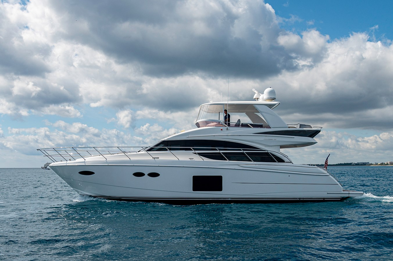 Bow To Stern_Profiles23 2015 PRINCESS YACHTS 56 Motor Yacht 2932842
