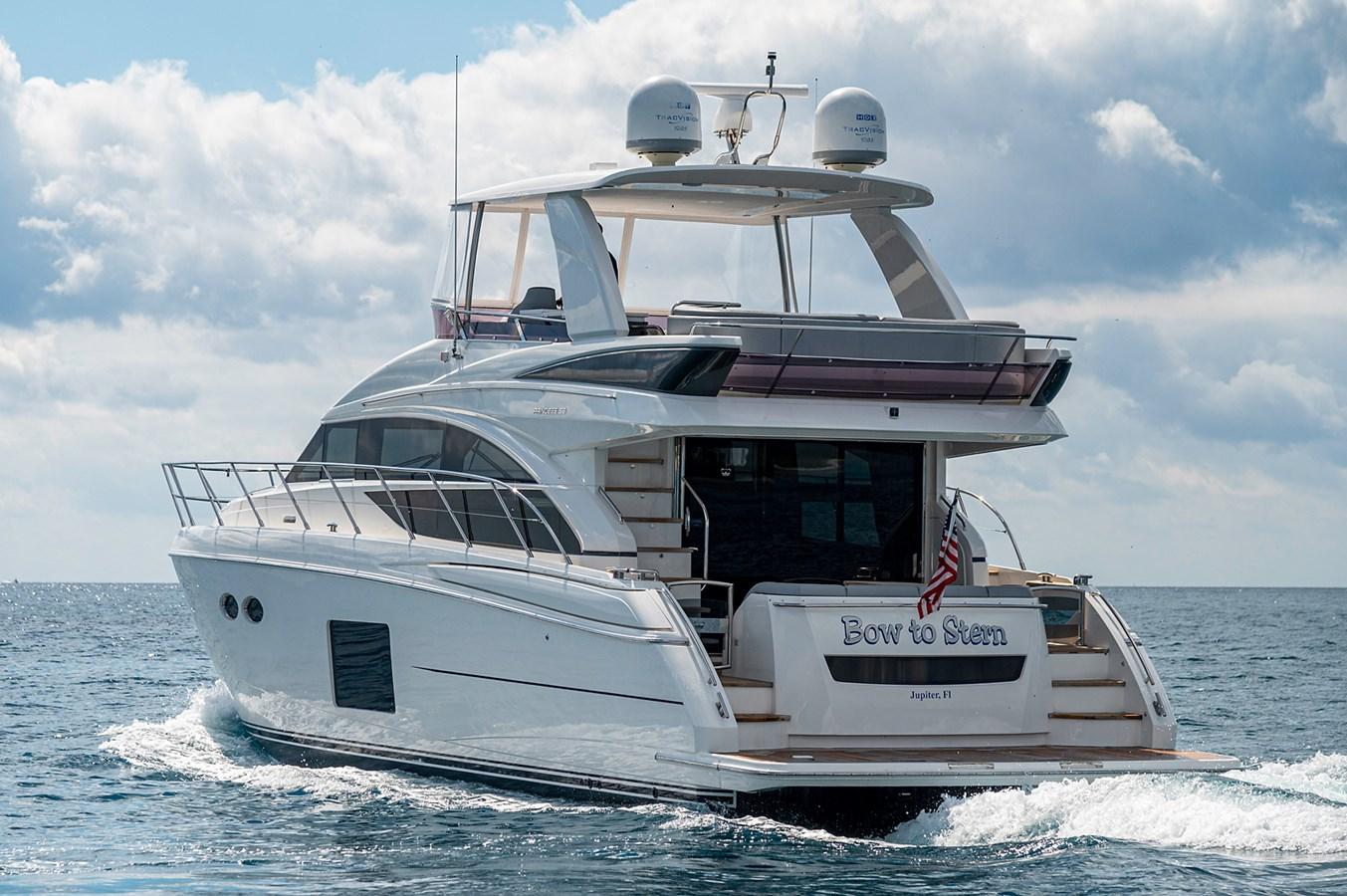 Bow To Stern_Running1 2015 PRINCESS YACHTS 56 Motor Yacht 2932843