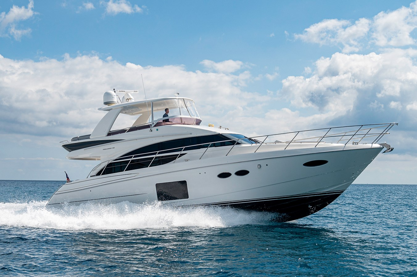 Bow To Stern_Running5 2015 PRINCESS YACHTS 56 Motor Yacht 2932844