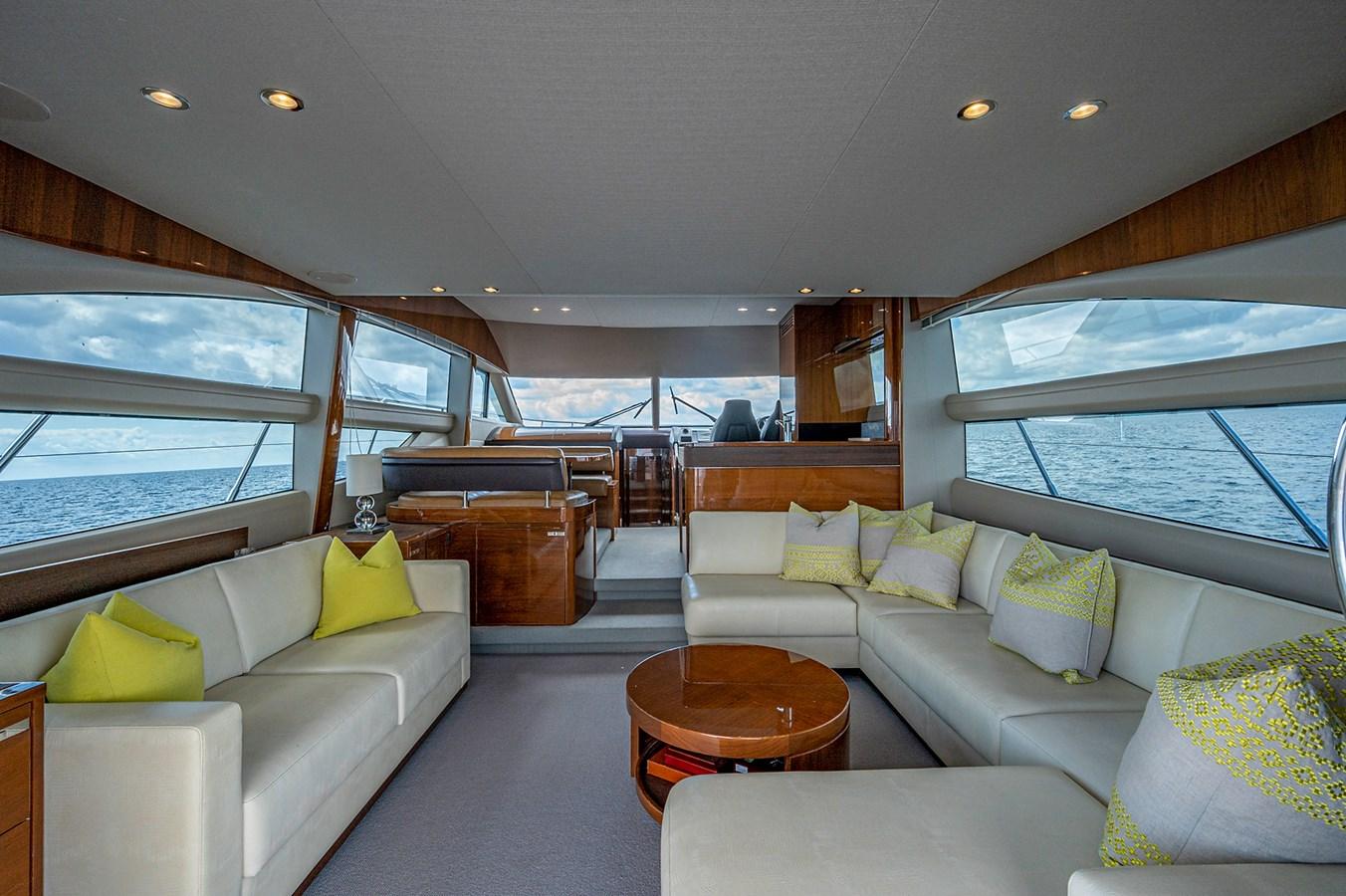 Bow To Stern_Salon1 2015 PRINCESS YACHTS 56 Motor Yacht 2932846