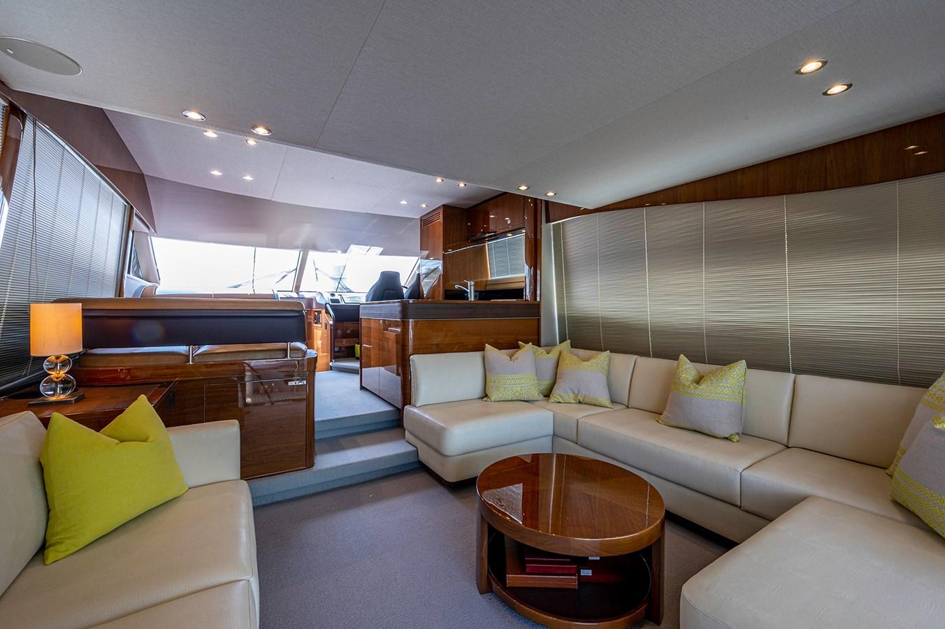Bow To Stern_Salon2 2015 PRINCESS YACHTS 56 Motor Yacht 2932847