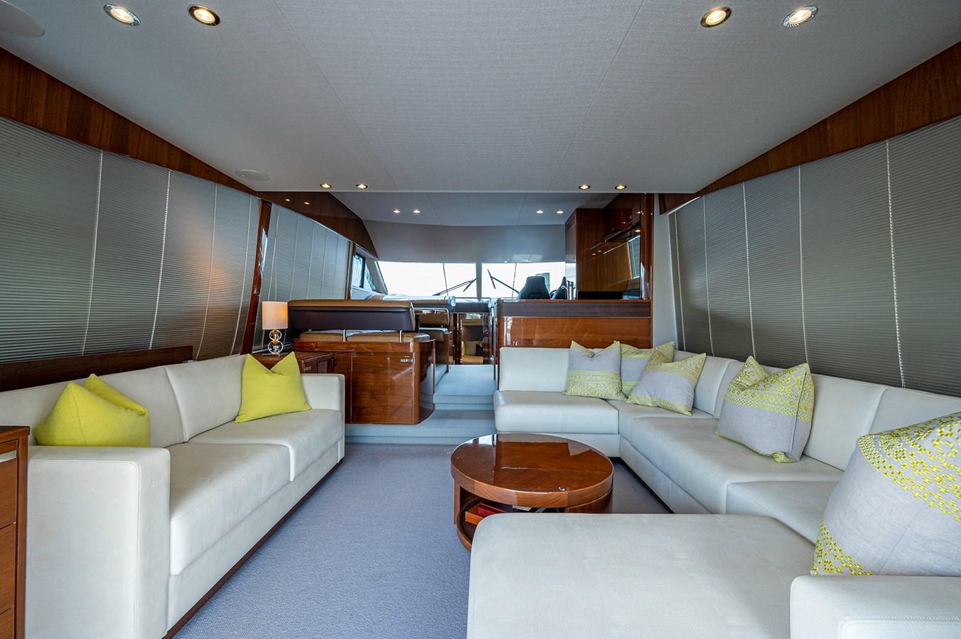 Bow To Stern_Salon3 2015 PRINCESS YACHTS 56 Motor Yacht 2932848