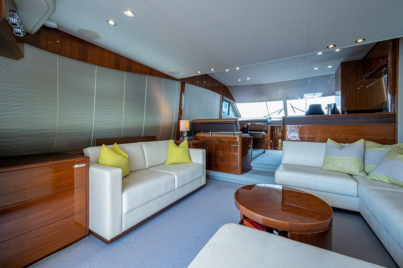 Bow To Stern_Salon5 2015 PRINCESS YACHTS 56 Motor Yacht 2932849