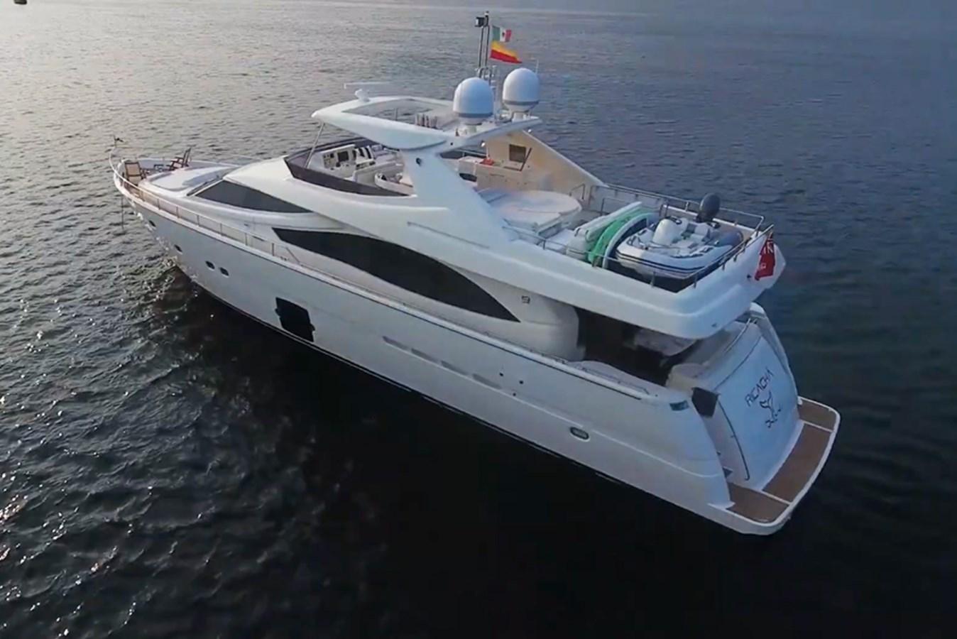 RICACHA 2012 Ferretti 830 @ Acapulco yacht for sale