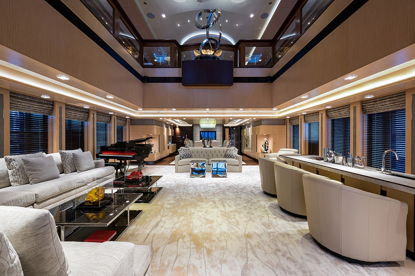 Quantum of Solace_salon_5 2012 TURQUOISE YACHTS  Mega Yacht 2939335