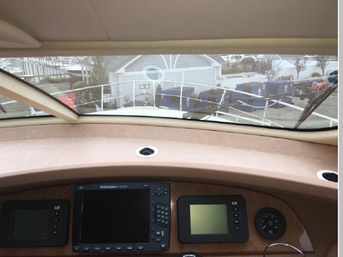 View from helm standing 2006 AICON YACHTS 56 Motor Yacht 2950875