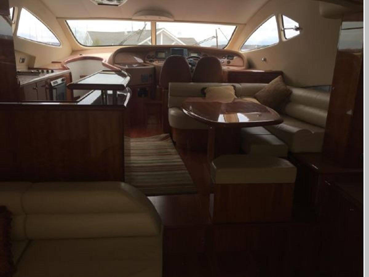Bridge galley, bar and lounge 2006 AICON YACHTS 56 Motor Yacht 2950880
