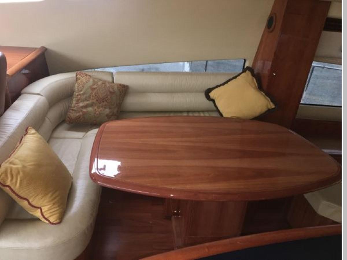 Starboard bridge lounge seats 6 2006 AICON YACHTS 56 Motor Yacht 2950888