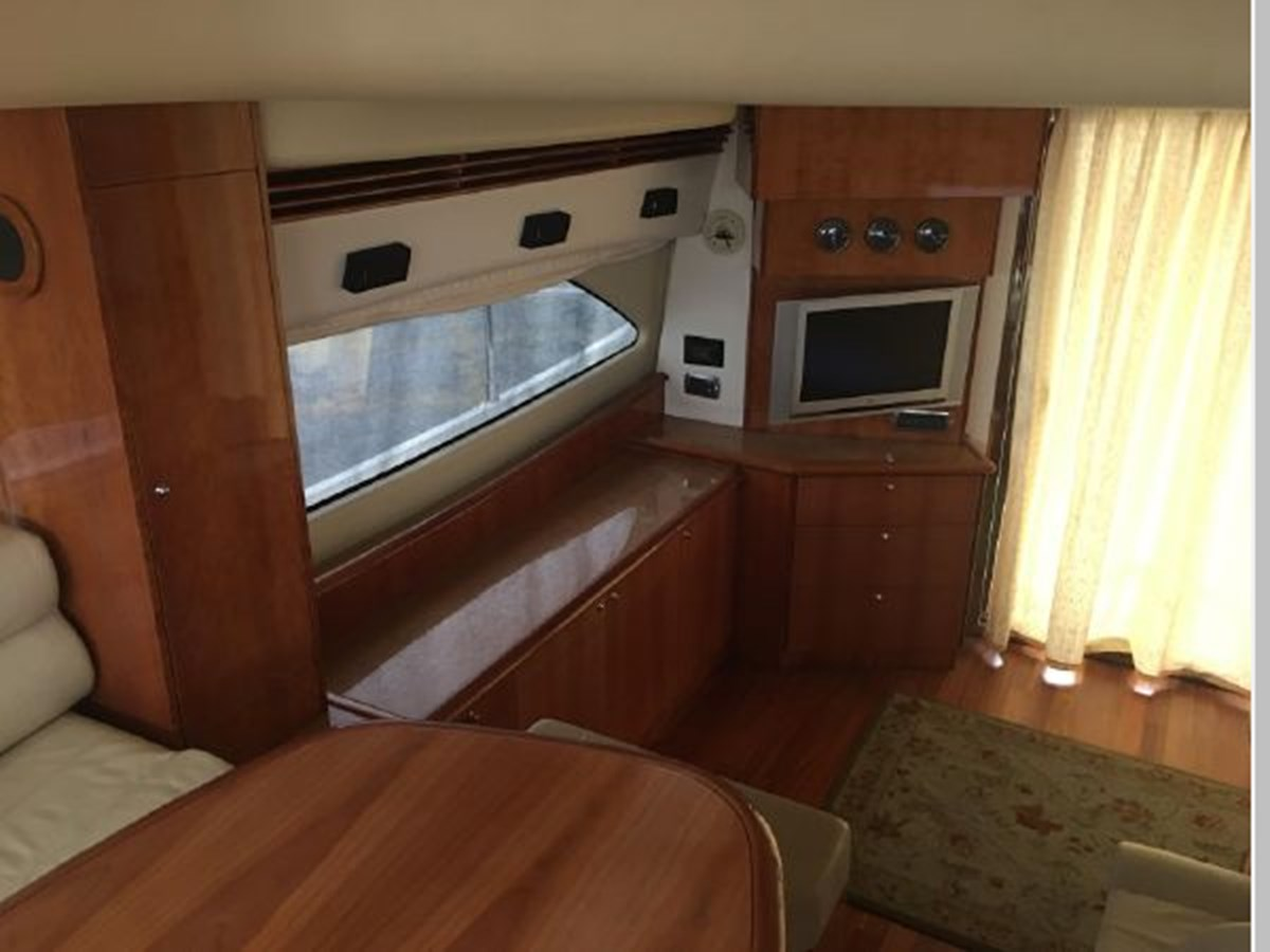 Salon looking to starboard 2006 AICON YACHTS 56 Motor Yacht 2950890