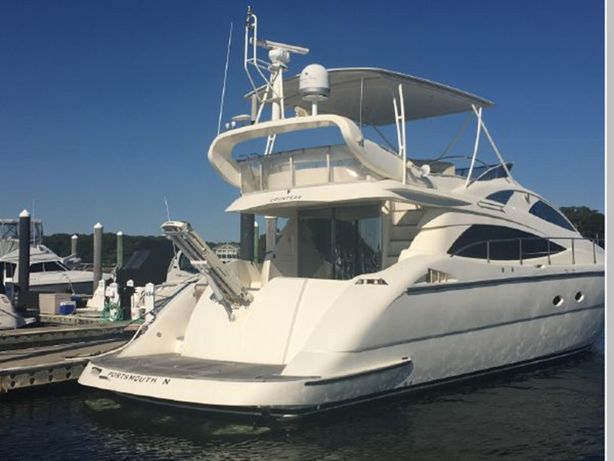Gangway extends 2006 AICON YACHTS 56 Motor Yacht 2950897