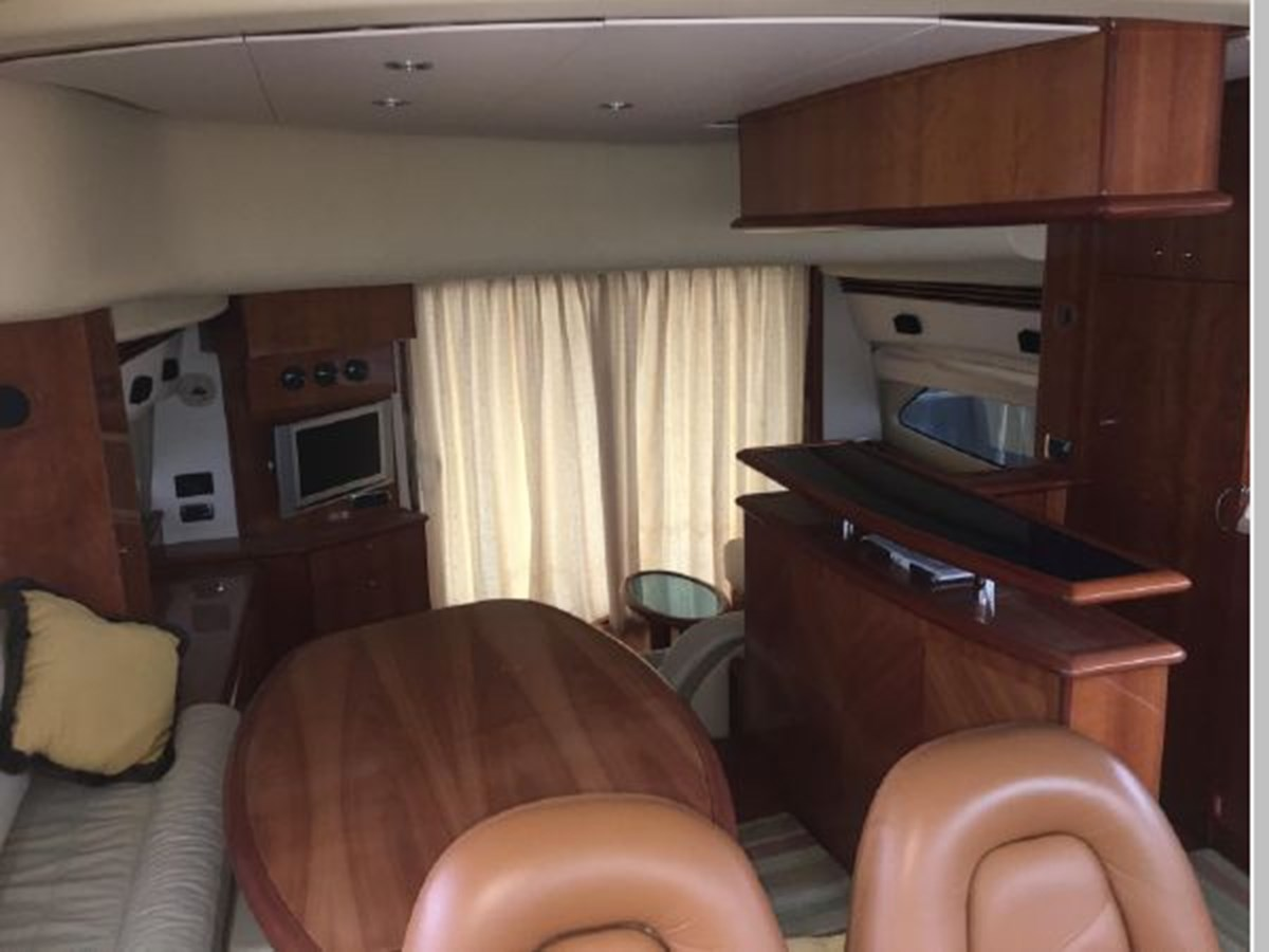 View aft from lower helm 2006 AICON YACHTS 56 Motor Yacht 2950902
