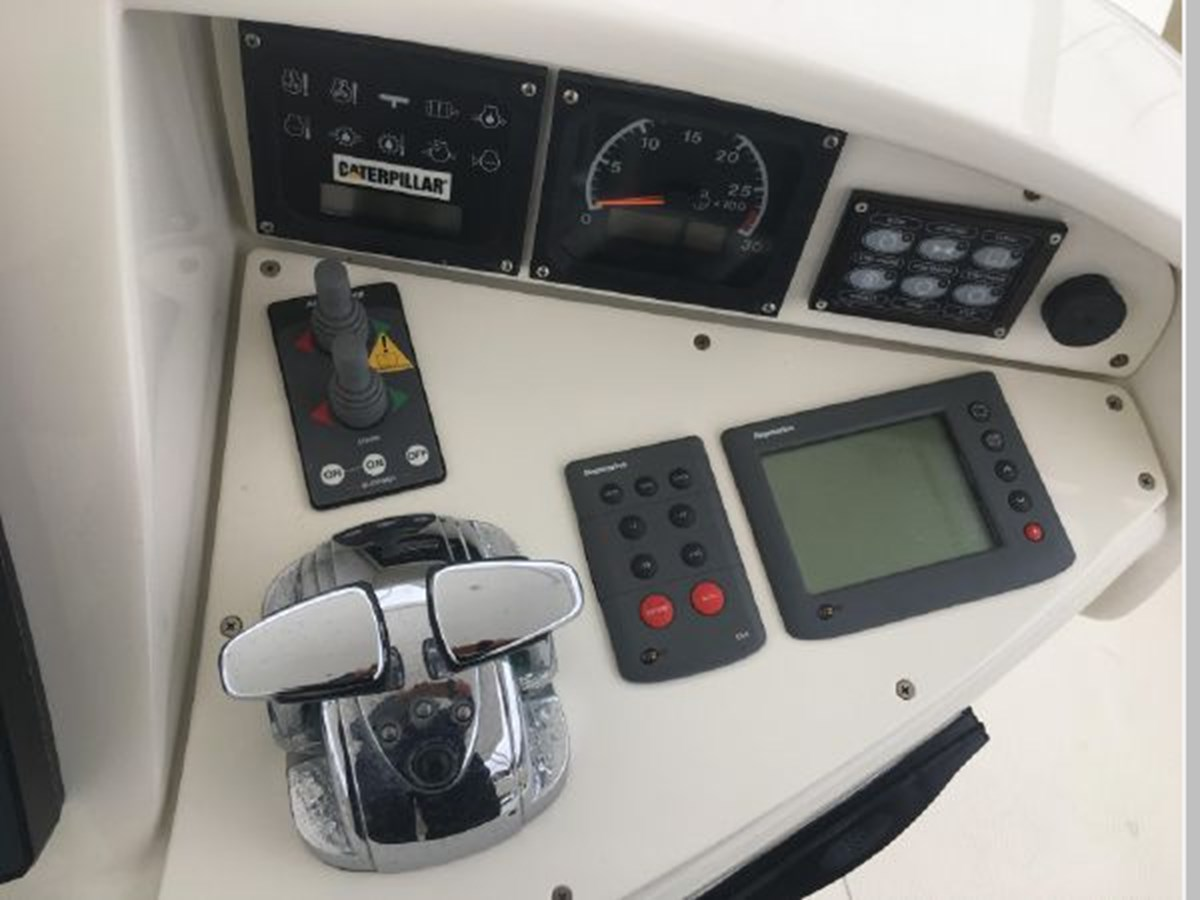 Upper helm right of center 2006 AICON YACHTS 56 Motor Yacht 2950926