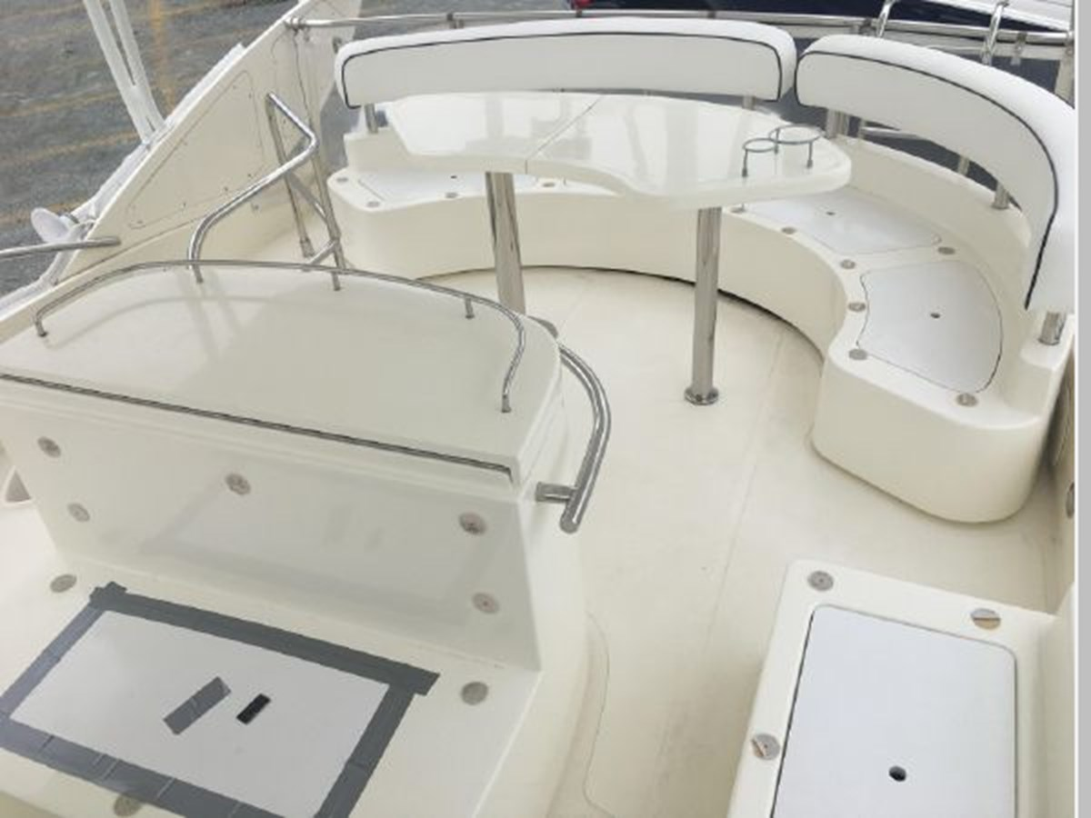 Aft of helm 2006 AICON YACHTS 56 Motor Yacht 2950931
