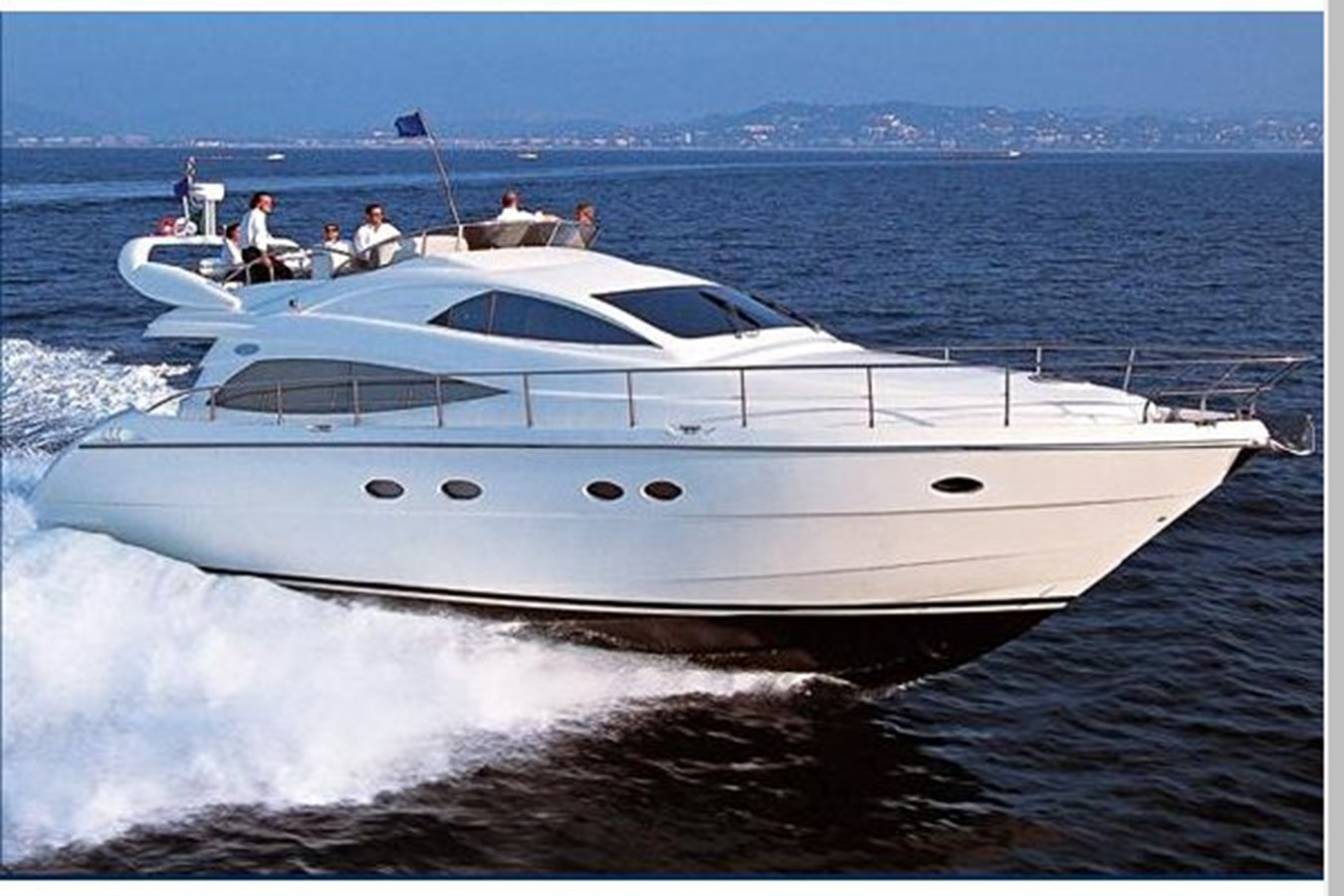 Underway without hardtop-Manufacturer Provided Image 2006 AICON YACHTS 56 Motor Yacht 2950935