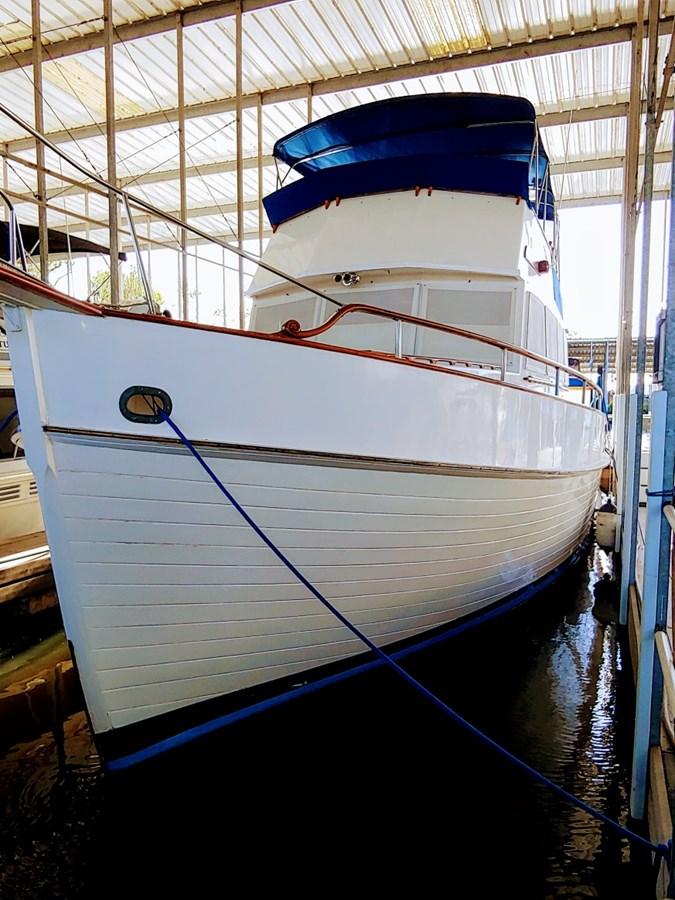 Noreej at Dock 1974 GRAND BANKS  Trawler 2952157
