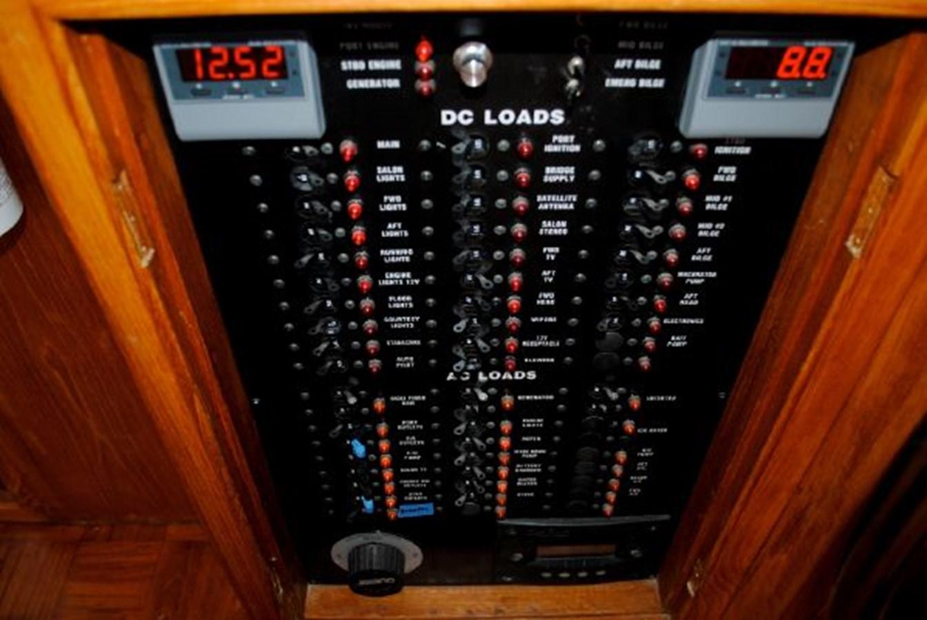 Electrical Panel 1974 GRAND BANKS  Trawler 2952160