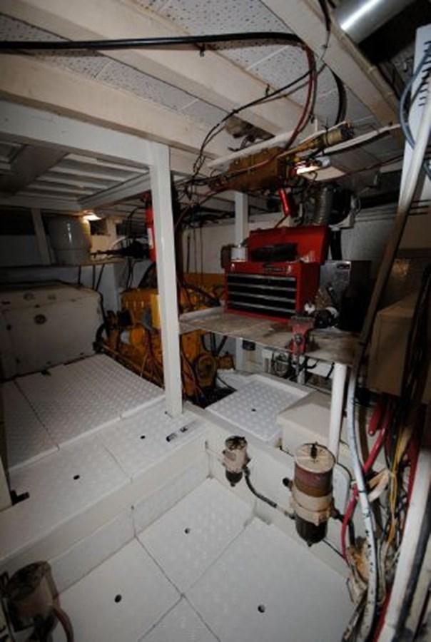 Engine Room Port 1974 GRAND BANKS  Trawler 2952163