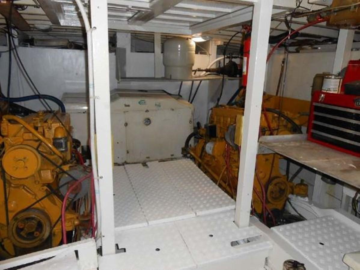 Engine Room 1974 GRAND BANKS  Trawler 2952164