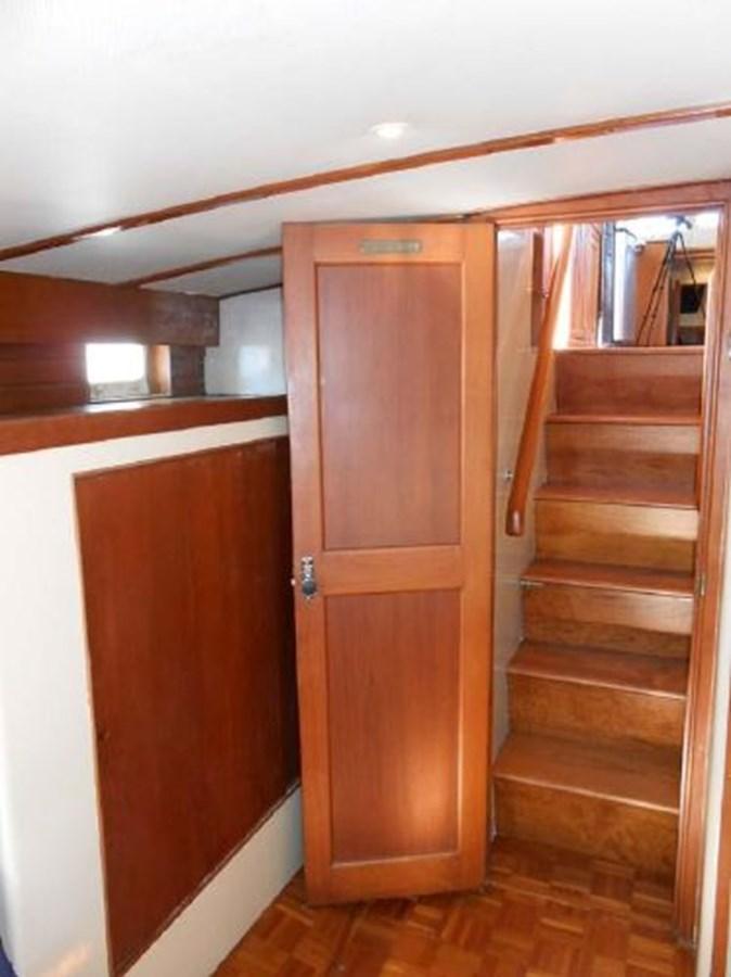 Master Stateroom Closet 1974 GRAND BANKS  Trawler 2952195