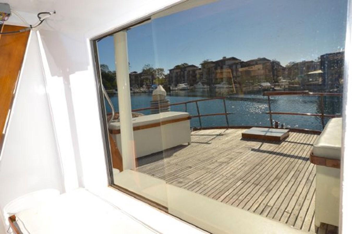 Saloon aft Window 1974 GRAND BANKS  Trawler 2952207