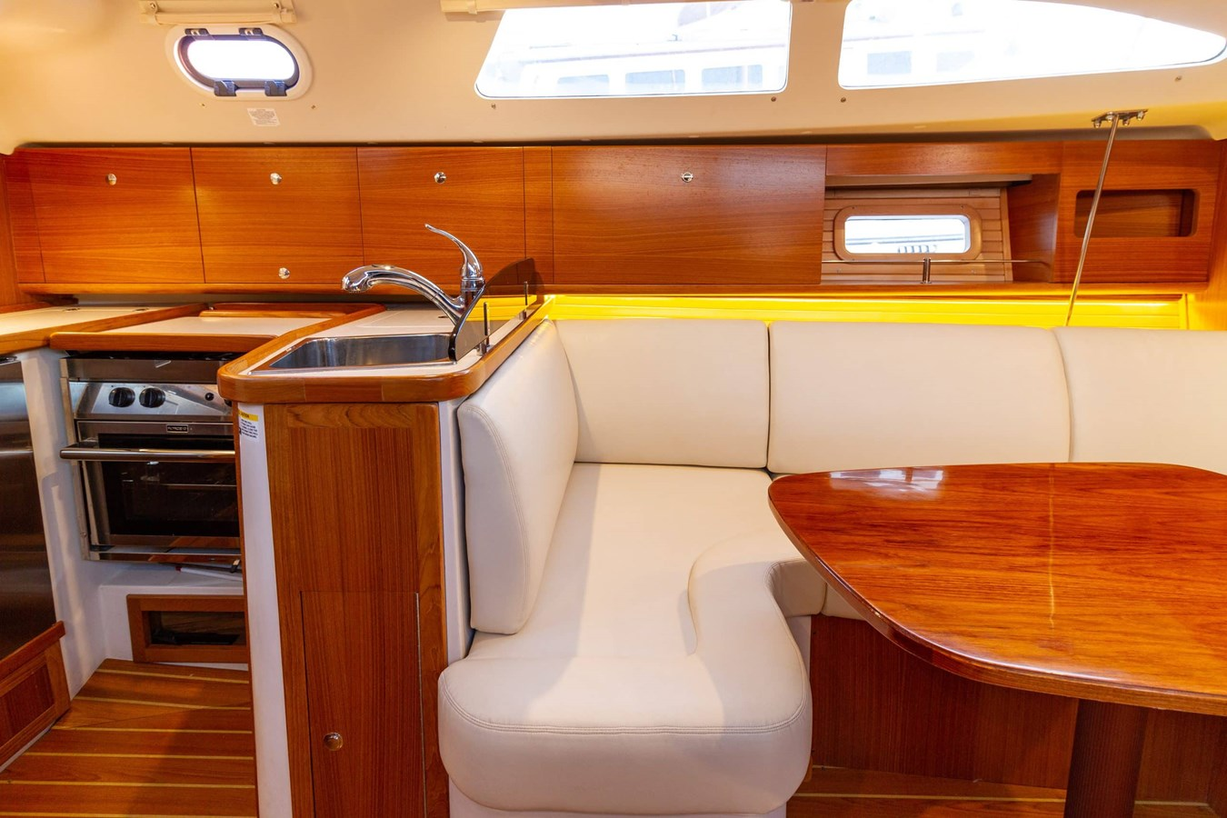 Galley and Dinette 2019 CATALINA  Cruising Sailboat 2962346