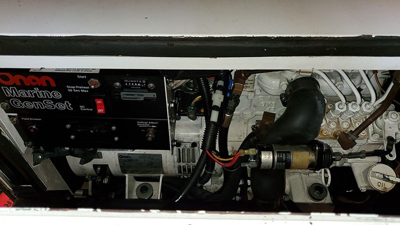 50ELECGenerator1 2001 CARVER 444 Cockpit Motor Yacht Motor Yacht 2967643