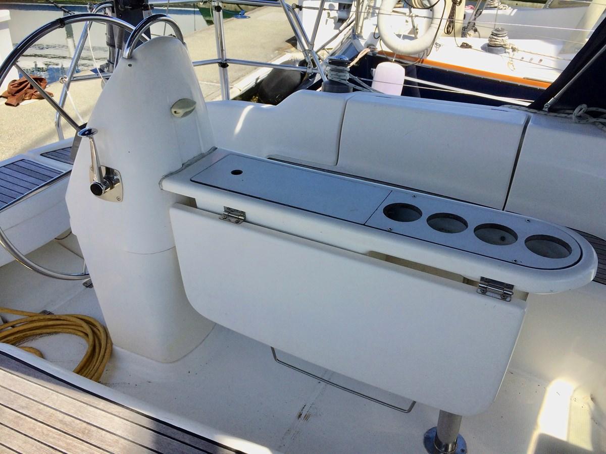 Folding Table 2003 DUFOUR Gib'Sea 37 Cruising Sailboat 2969476