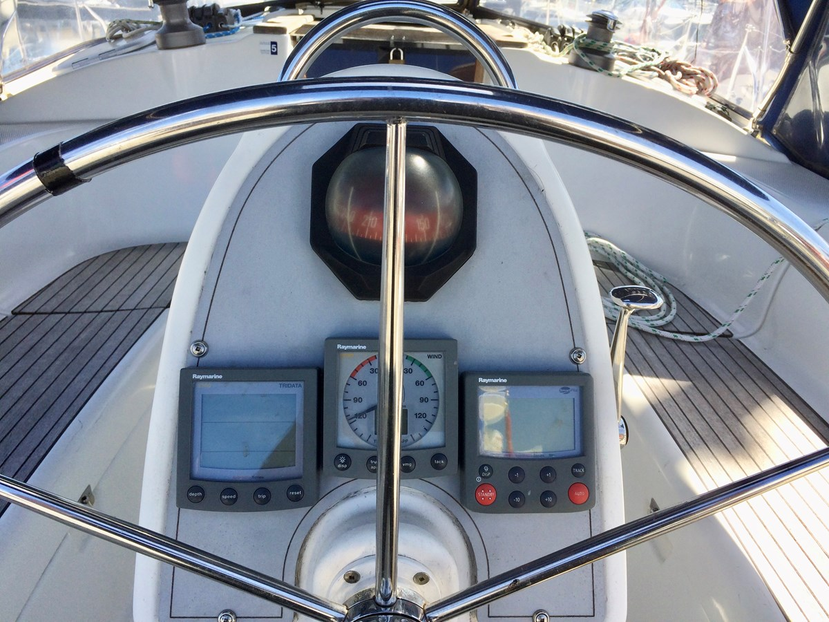 Pedestal 2003 DUFOUR Gib'Sea 37 Cruising Sailboat 2969478