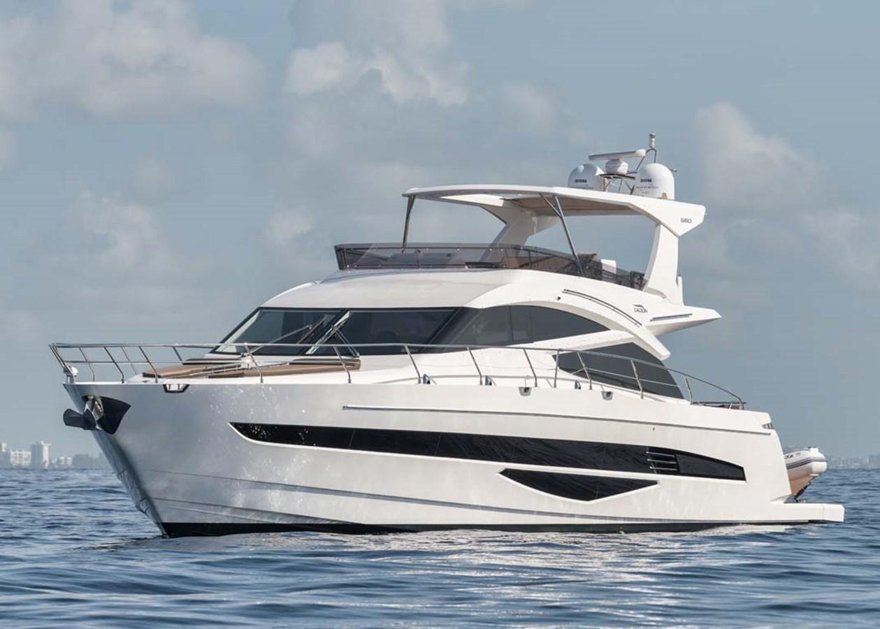 Main Profile - Port Bow View 2018 GALEON 660 Flybridge Motor Yacht 2973939