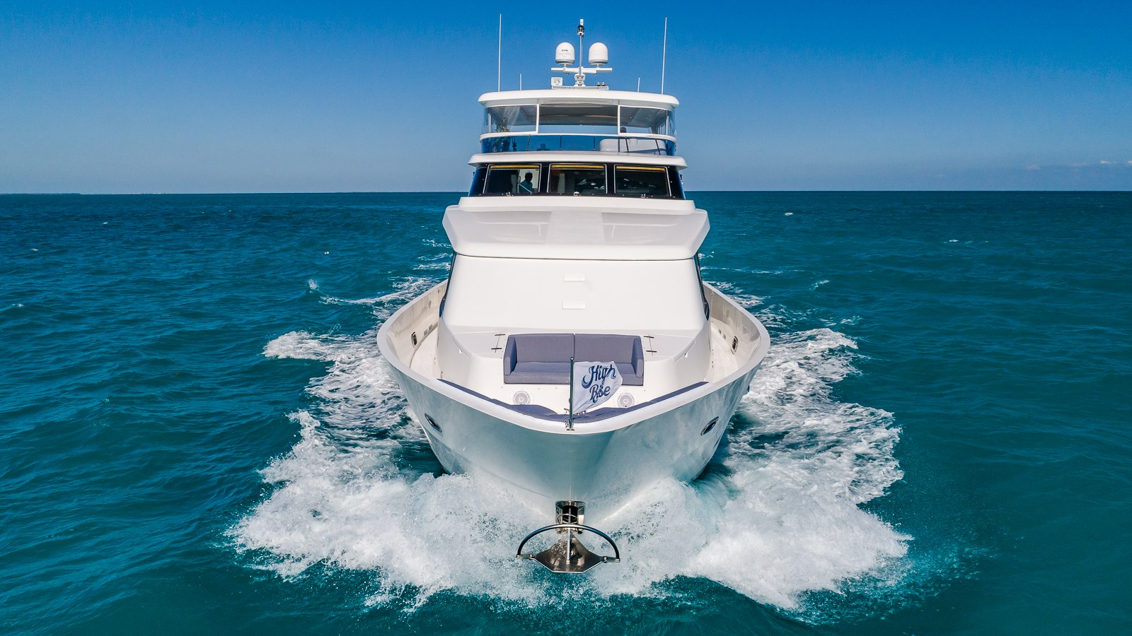 HIGH RISE yacht for sale