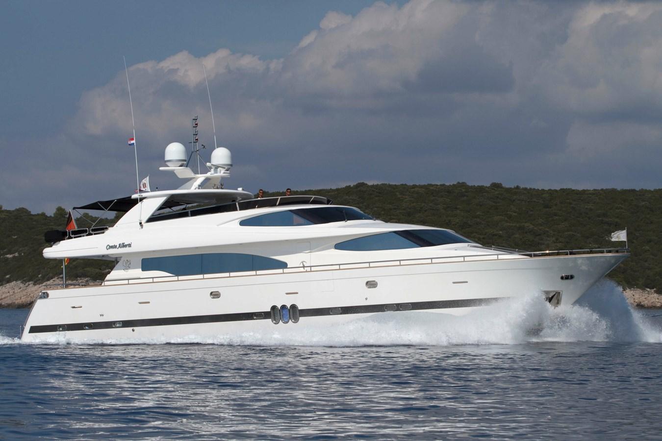 Conte Alberti yacht for sale