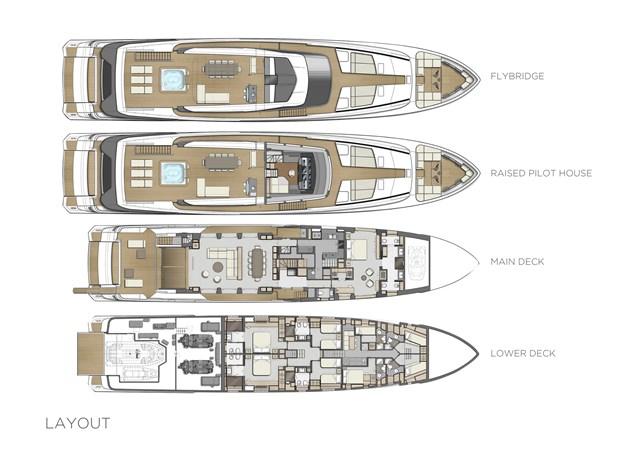 CUSTOM LINE AMELIA Yacht à Vendre