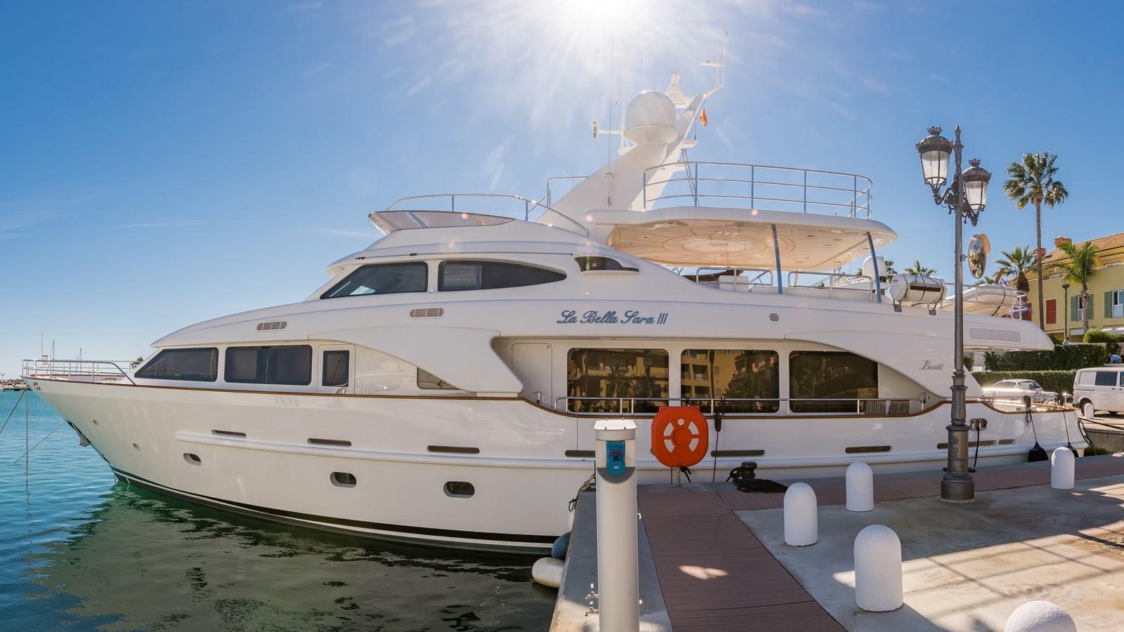 La Bella Sara III yacht for sale