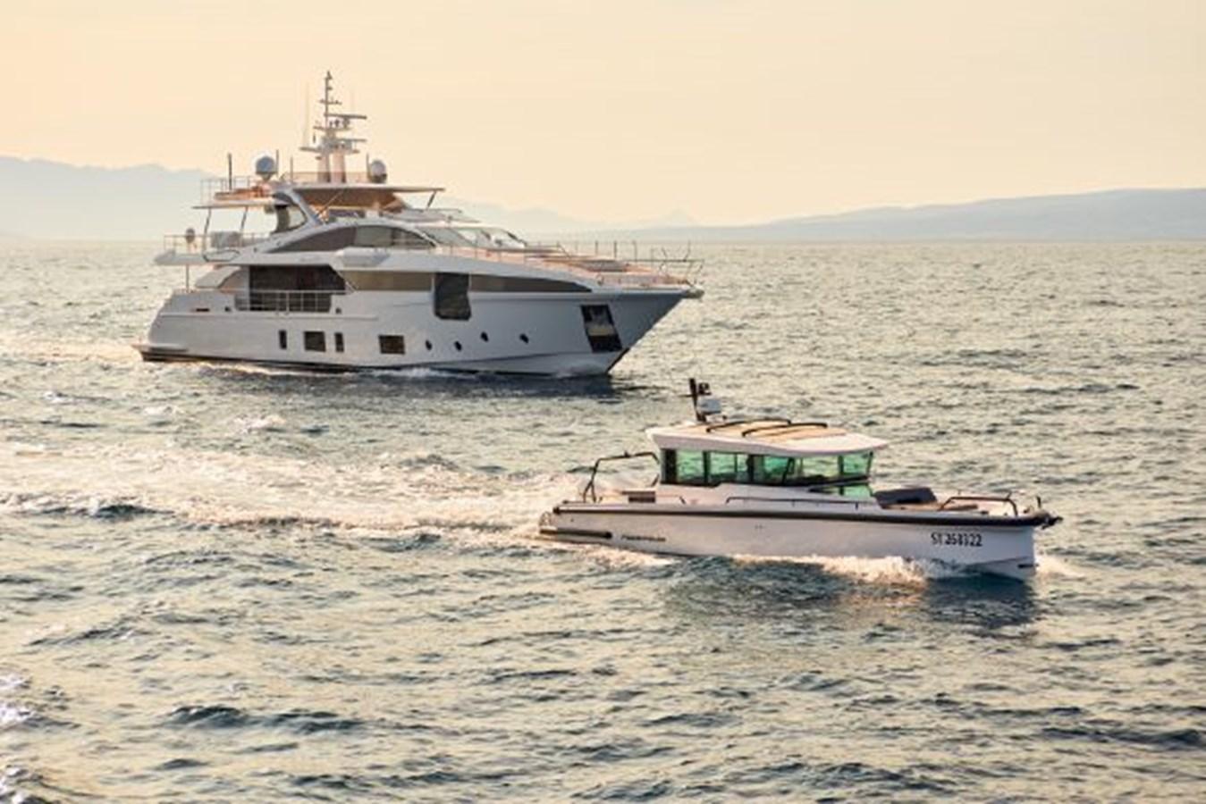 2019 Azimut Grande 35 Metri yacht for sale