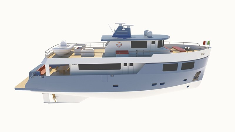 MOSTES AUDACE 80 ICE Yacht for Sale