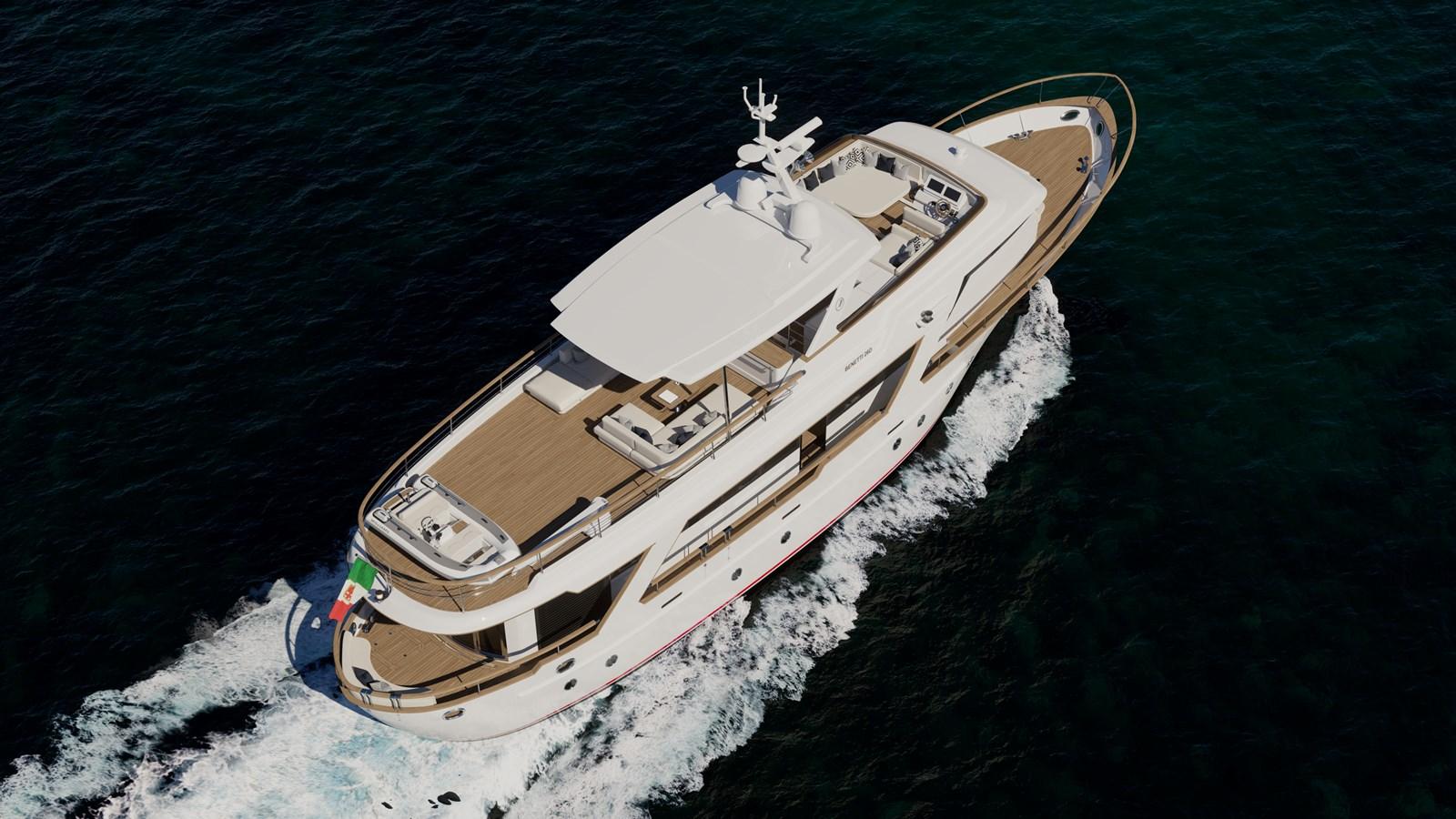 BENETTI 26D - Design Luca Catino - Aerial