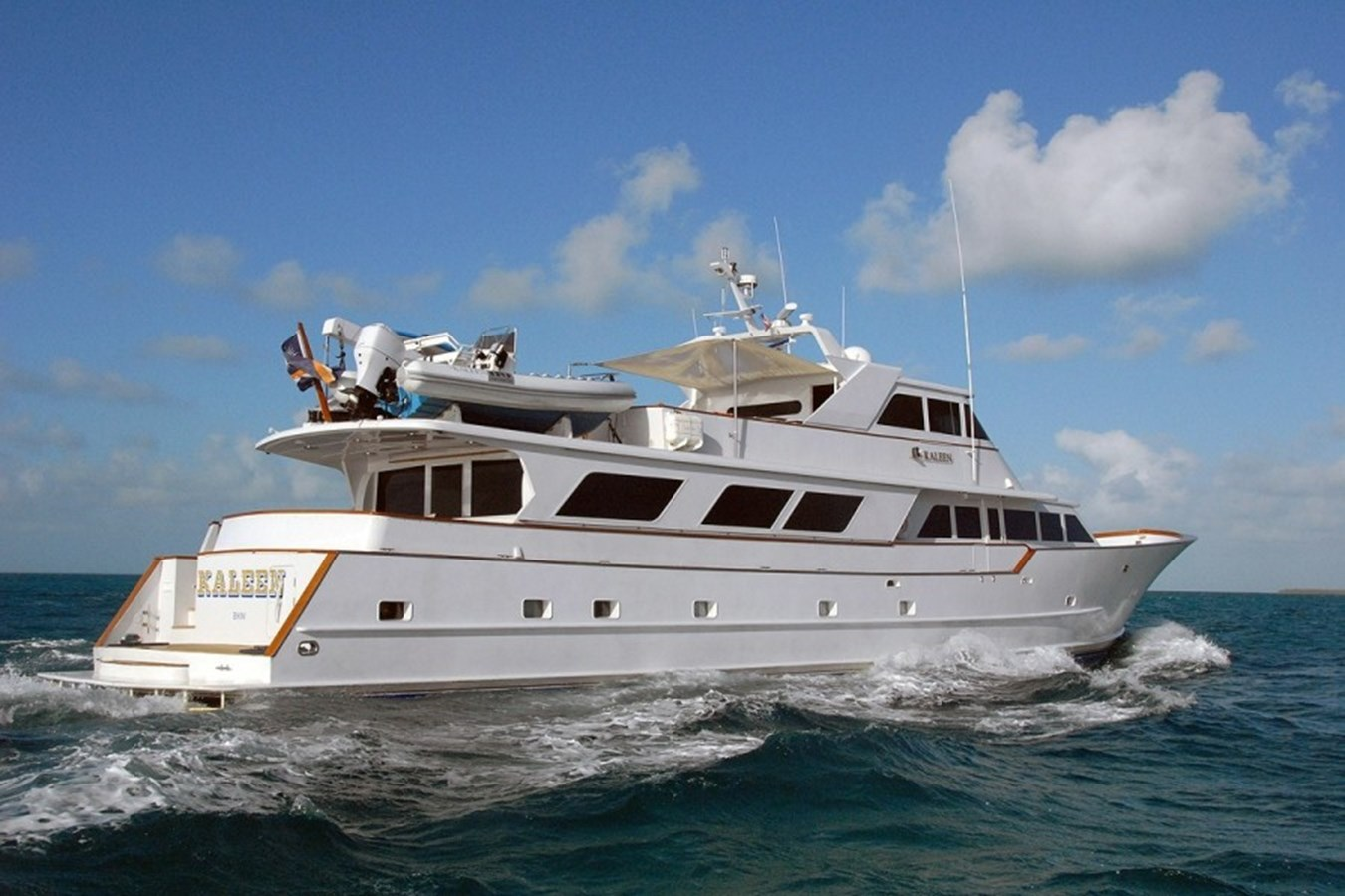 KALEEN yacht for sale