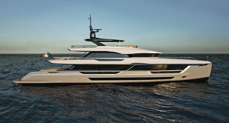 MENGI YAY MISTRAL 41 STEEL HULL # 2 Yacht for Sale