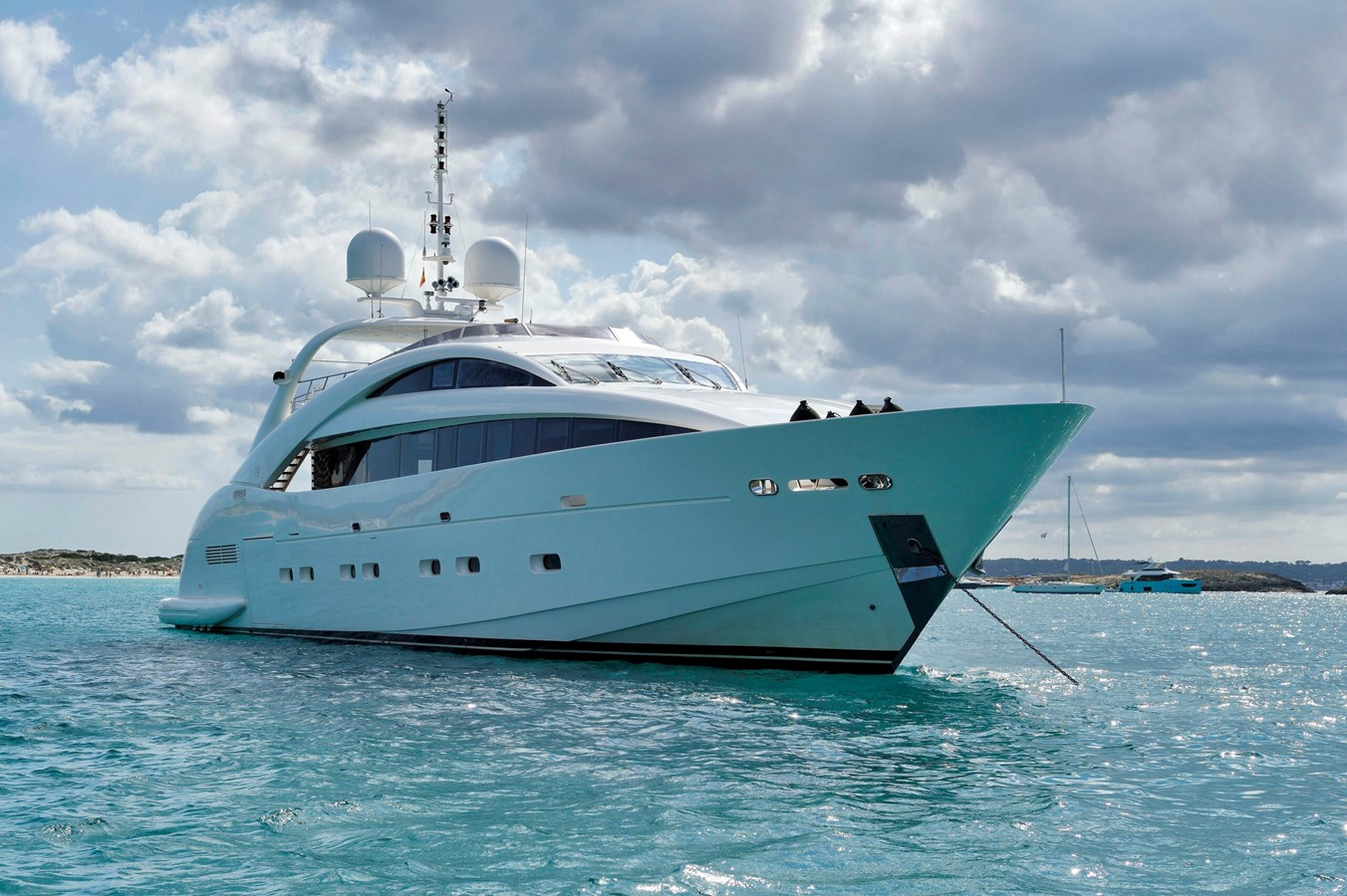 Whispering Angel yacht for sale