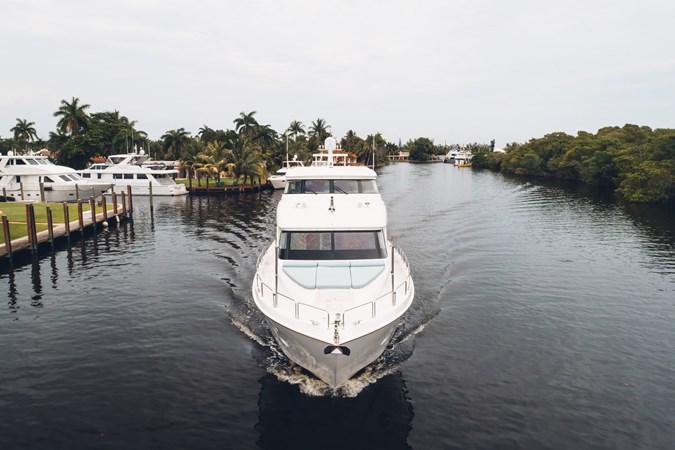 HATTERAS 2014 Hatteras 80 MY MJ3 Yacht for Sale