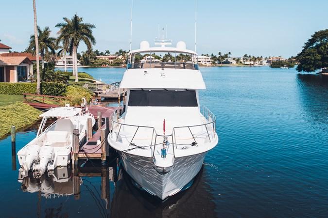 HATTERAS 2000 Hatteras 75 MY Beer Money Yacht for Sale