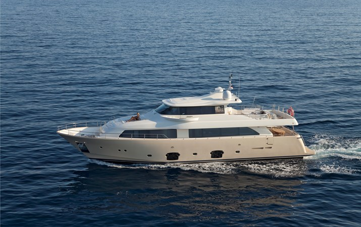 FERRETTI CUSTOM LINE LA PAUSA Yacht for Sale
