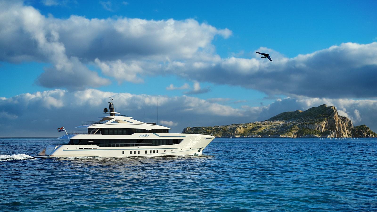 Heesen 55m Steel YN 20255 Project Apollo Yacht for Sale