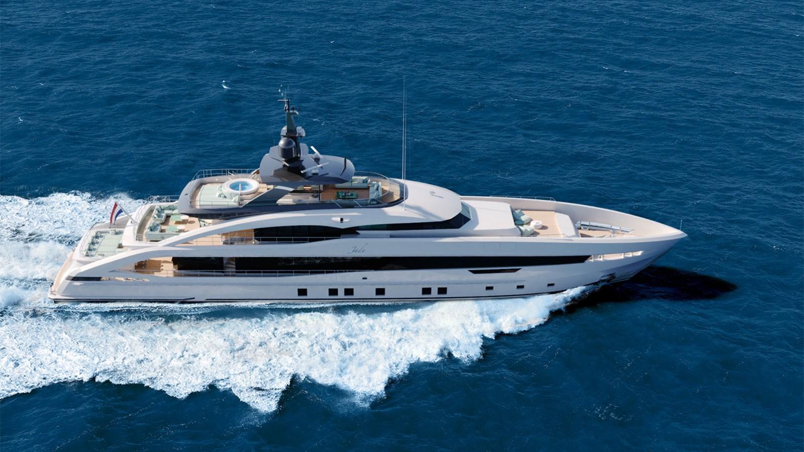 Heesen 50m Aluminium YN 20350 Project Jade yacht for sale