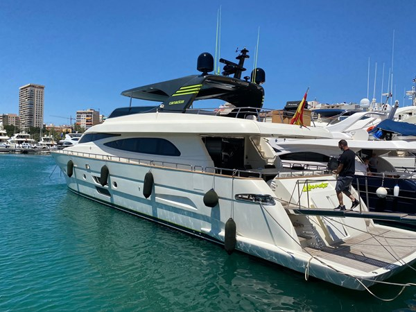 CANADOS LIBERATA Yacht for Sale
