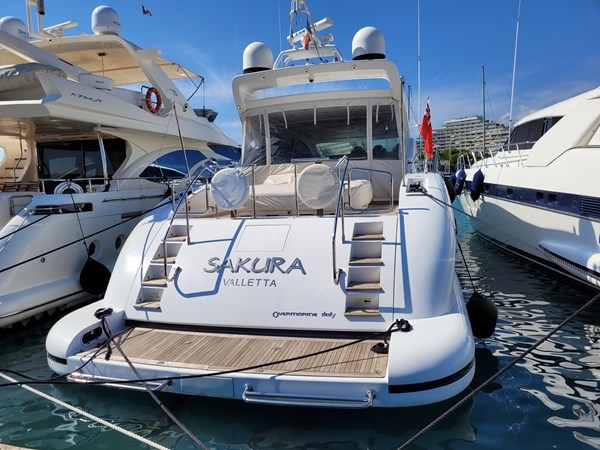 MANGUSTA SAKURA Yacht for Sale