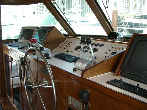 1985 HATTERAS  Motor Yacht 78900